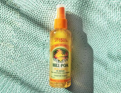 Sun Oil SPF 15 Tiare